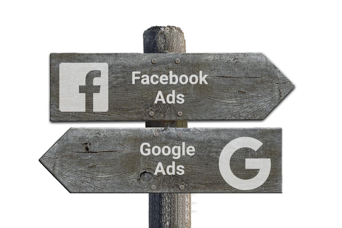 Google Ads vs Facebook Ads, welke is meer geschikt?